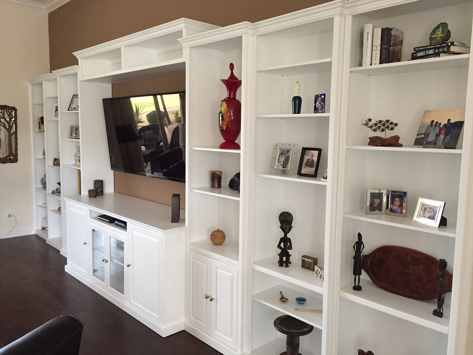 Creating A Great Entertainment System Custom Cabinet And Bookcase Design Blog