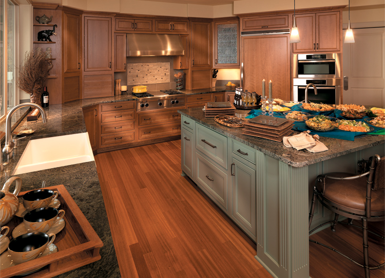 Norwood style kitchen on Cherry wood