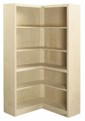 plans to build a corner bookcase