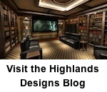 Visit the Highlands Designs Cabinet and Bookcase Design Blog