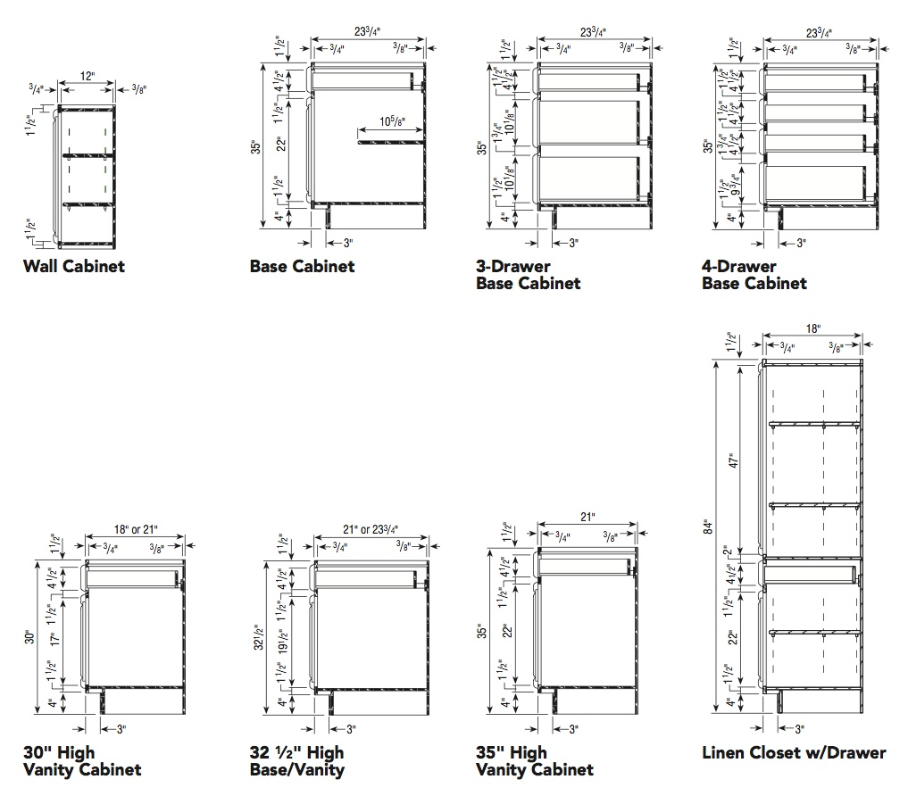 Aristokraft cabinet specifications 1