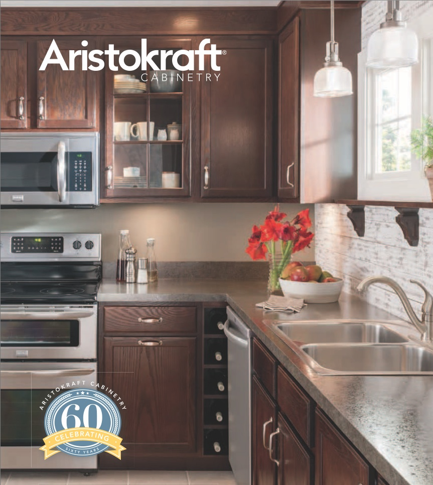 Stock aristokraft kitchen cabinets with all plywood for Aristokraft oak kitchen cabinets