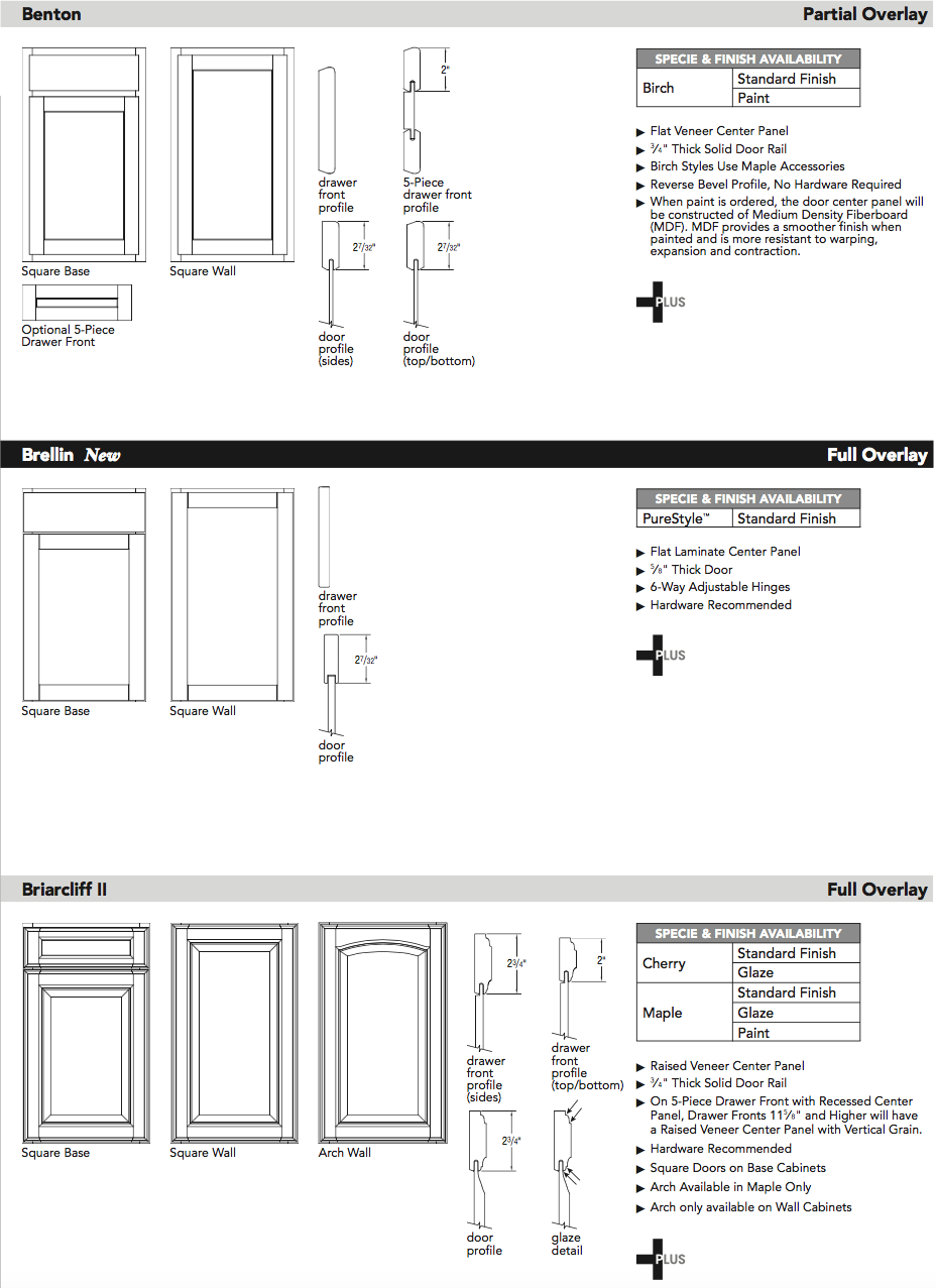 Aristokraft door specifications2