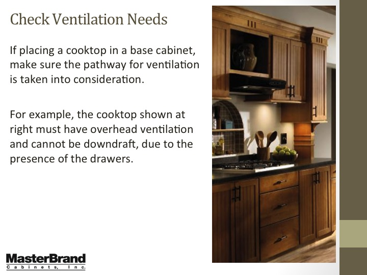 Check ventilation needs