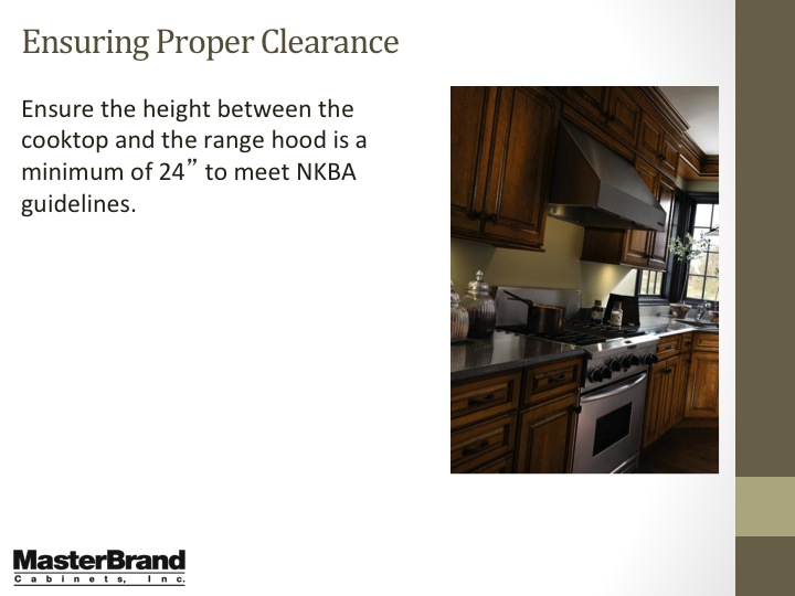 Ensuring proper clearance 2