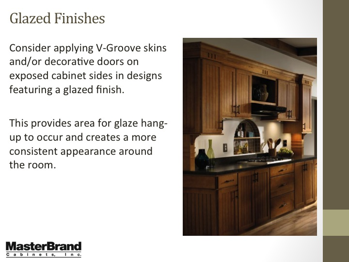 Glazed finishes