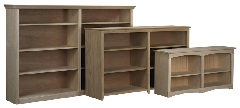 Face Frame Bookcases with Center Divider