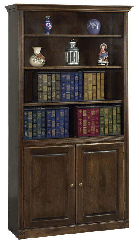 Arthur Brown Bookcase with Lower Doors