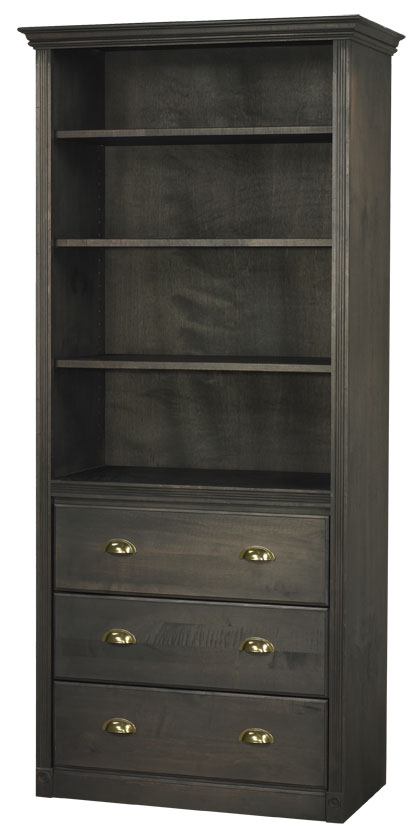 Arthur Brown Bookcase with Lower Drawers
