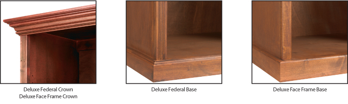 Deluxe Crown Moulding Options