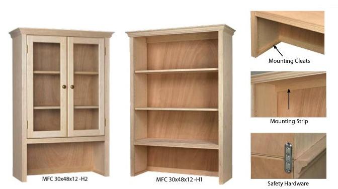 Face Frame Bookcase Details