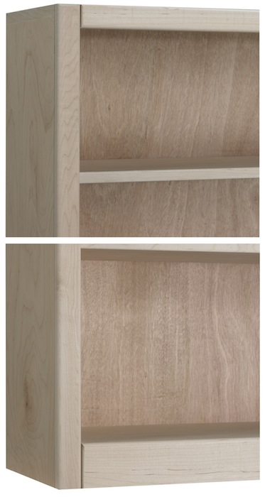 Face Frame Bookcases