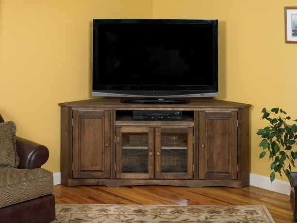 Arthur Brown corner entertainment console