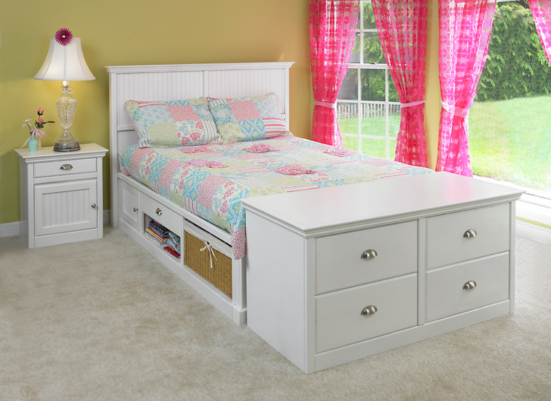 Milano drawer chest with bed
