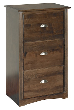 Arthur Brown 3-drawer file cabinet