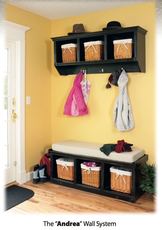 Arthur Brown Cubby Benches and Coat Racks