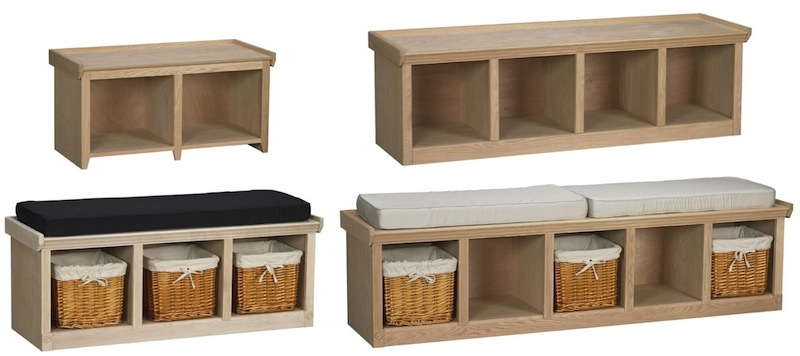 Arthur Brown Cubby Benches