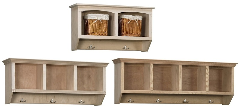 Arthur Brown Cubby Coat Racks