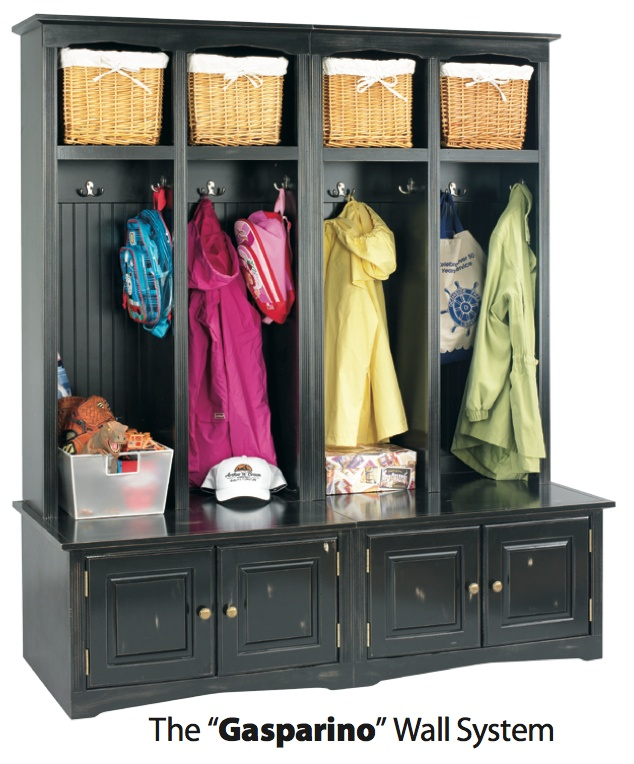 Above Arthur Brown Components To Create A Great Mudroom Wall System Including Coat Storage And Seat Click Here For More Details On This Gasparino