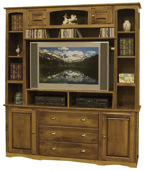 Arthur Brown cabinets and bookcase bridge
