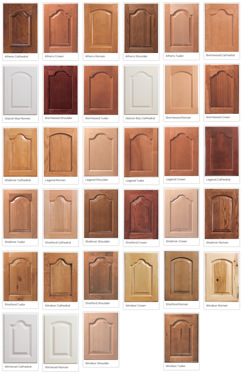 Canyon Creek Arched Raised-Panel Doors
