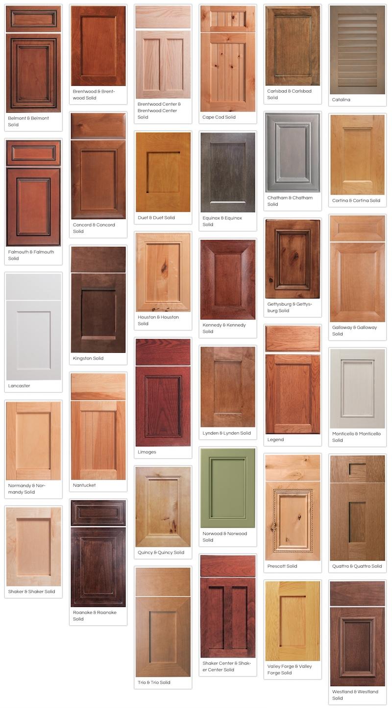 Canyon Creek Recessed-Panel Doors