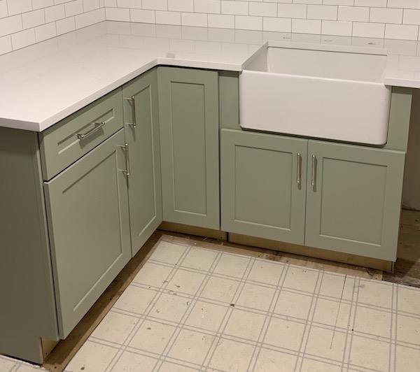 Sink Range Cabinets