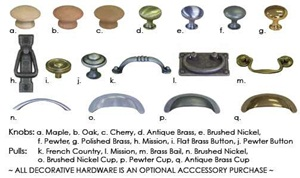 Accessory Knobs and Pulls