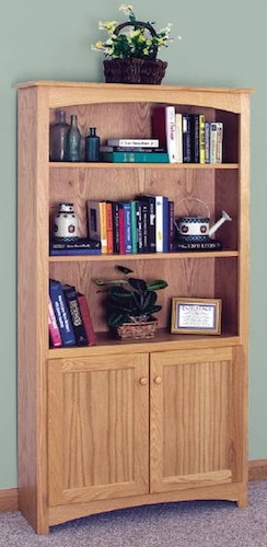 Finished Shaker Bookcase