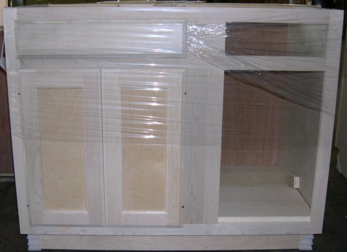 Unfinished Kitchen Cabinets, 42 Inch Tall Unfinished Wall Cabinets