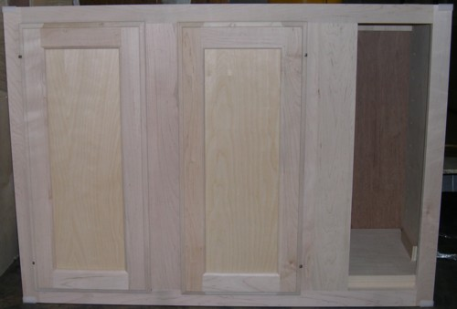 blind wall cabinets can be placed between 0 3 inches from the wall on