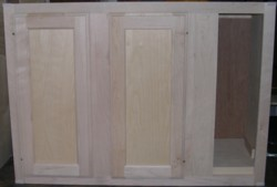 base cabinet with blind on right