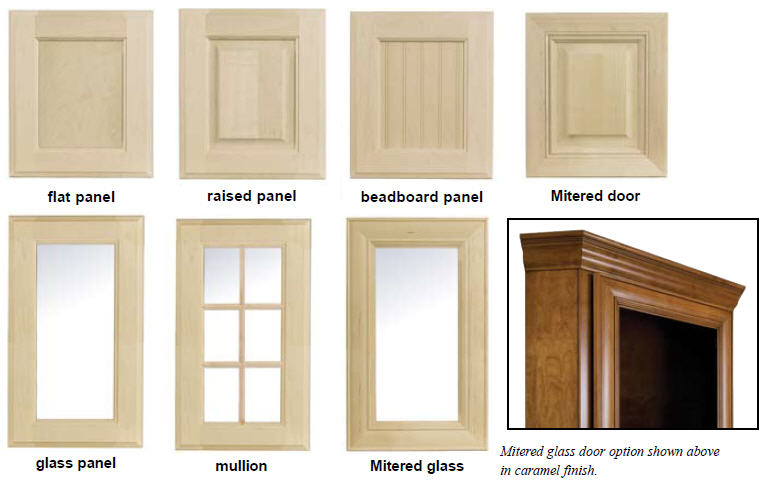 Bookcase Door Styles