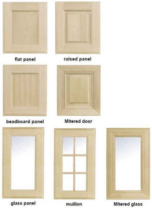 Bookcase Door Options