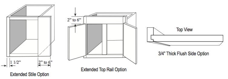 Extended Stile Option