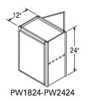 """PENINSULA WALL (18""""W x 24""""H x 12""""D)"""