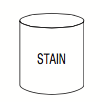 Stain in Quart Can (choose the stain color and wood type)