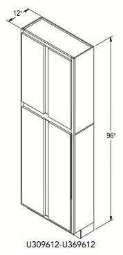 "UTILITY CABINET (30""W x 96""H x 12""D)"