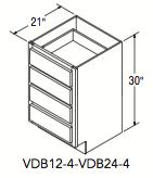 "VANITY DRAWER BASE (21""W x 30""H x 21""D)"