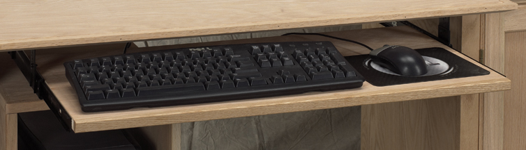 "AWB Keyboard Slide (-KS) 34""W x 15""D"