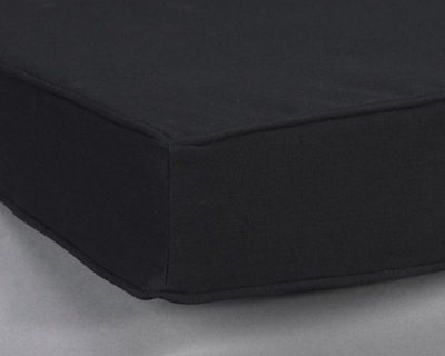 "AWB Cushion, Black (-C19B) 19""L x 3""H x 15""D"
