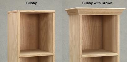 """AWB Cubbies (-CUB5) 12.5""""W x 28.25""""H x 11.75""""D"""