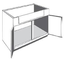 Bfsb36 Kitchen Farm Sink Base Cabinet 36 W X 34 1 2 H X 24 D