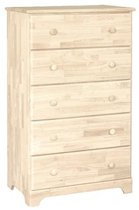 Classic Bedroom, Five Drawer Chest