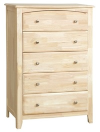 Summerville Bedroom, Five Drawer Chest
