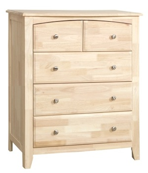 Summerville Bedroom, Five Drawer Carriage Chest