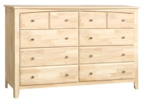 Summerville Bedroom, Ten Drawer Dresser