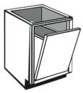 "VH18: Vanity Hamper Cabinet, 18""w x 31""h x 21""d"