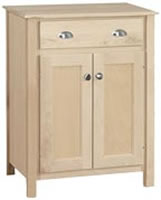 Provincial Cabinet Microwave 1 Drawer/2 Door