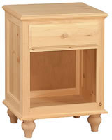 Cottage Night Stand 1 Drawer